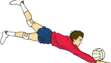 2018年西安中考体育排球考试规则