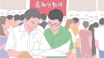 2017年赣州中考录取分数线