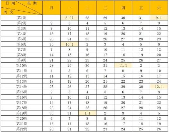 2018-2019学年贵阳中小学校历公布 什么时间放寒假
