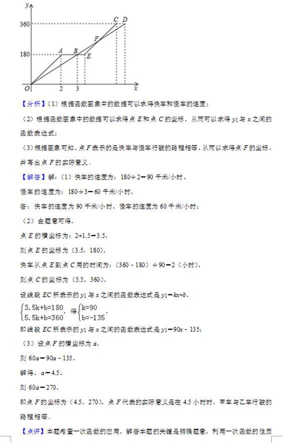 2019江蘇淮安中考數學試題答案