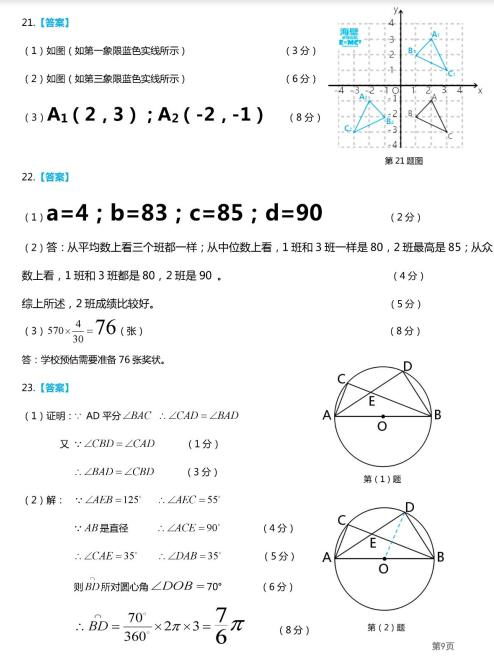 2019年廣西玉林中考數學真題答案【圖片版】3.jpg