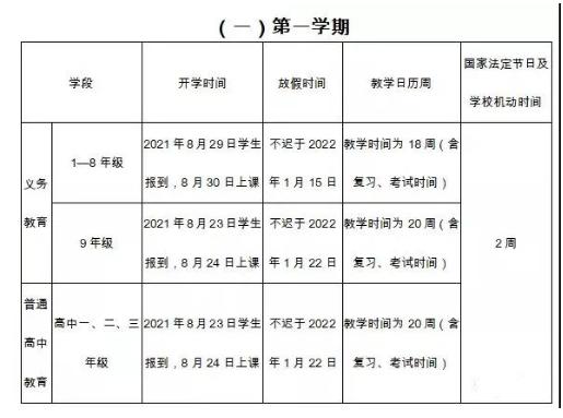 2021-2022云南中小4155mg电子游戏历公布